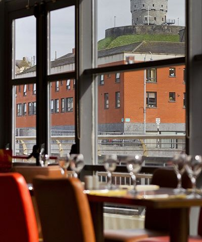 Brú Bistro - views of Drogheda