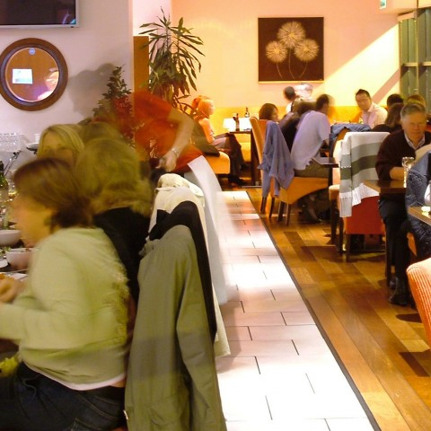 busy dinner - Bru Bar Bistro in Drogheda