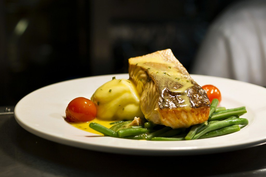 fillet of salmon - Bru Bar Bistro in Drogheda
