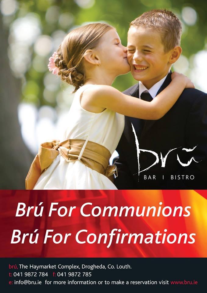 family celebrations - Bru Bar Bistro in Drogheda