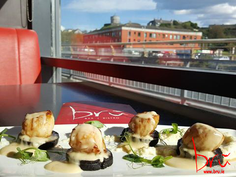 King Scallops and Black Pudding