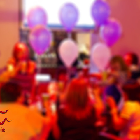 blurry balloons