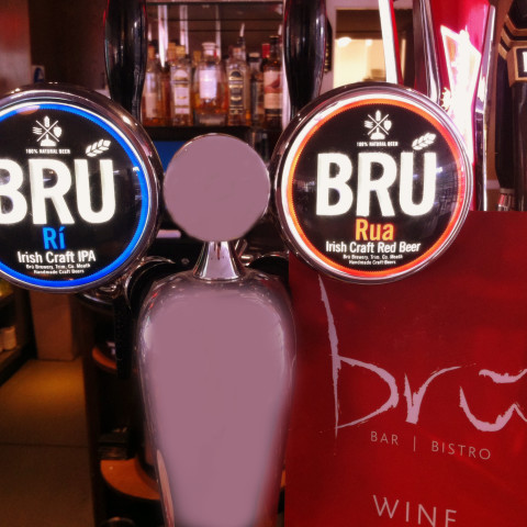 bru beer taps